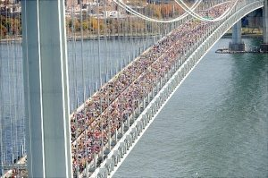 The New York City Marathon: Look Up and Enjoy the Run