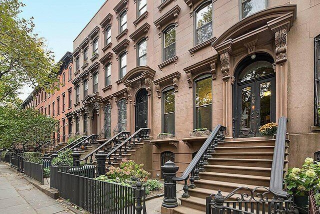 Italianate brownstones for Townhouse construction cost