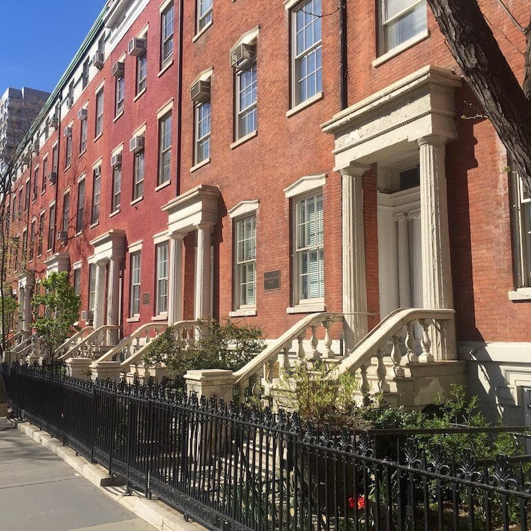 New York City Lofts For Rent: Greek-Revival-Townhouse.jpeg