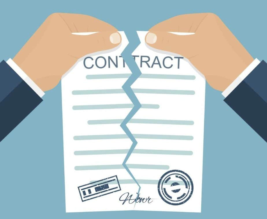 Breaking a Contract with Your Listing Agent